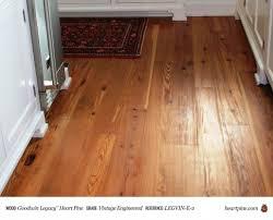 Heart Pine Laminate Flooring Antique Legacy Heart Pine Wood Flooring