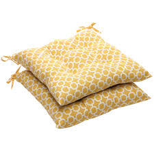 sensational yellow chair cushions for famous chair designs with