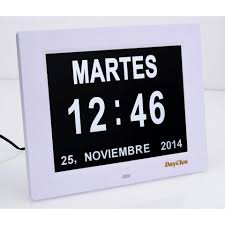 ivation clock digital clock with day and date aliexpress memory loss digital