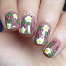 my nails look like trees naildawdle