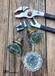 Vintage Glass Door Knobs by Antique Door Knob Hanger One Room Challenge Week 5 Diy Beautify