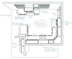create kitchen floor plan creating kitchen floor plan design software download smartdraw