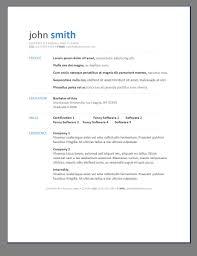 Sample Resume Templates Free Download Free Resume Templates Template Open Office Download Regarding 85