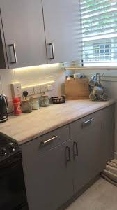can you paint b q kitchen cabinets revs kitchen for 31 using trendy worktop