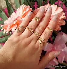 midi rings set statement pieces rings and midi rings cat