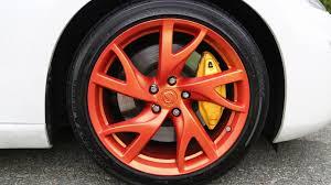 best orange color plasti dip best rim color for white car youtube