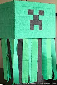 minecraft pinata una mexicana en usa piñata fácil de minecraft