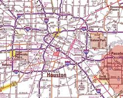 houston map districts escape to houston