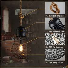 vintage pendant light lamp loft creative personality