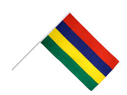 Afican Flag Mauritius Hand Waving Flag 2 X 3 Ft Best Buy Flags Co Uk