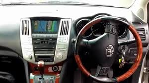 lexus harrier for sale 2004 toyota harrier 4wd buy used and new cars in tokyo