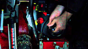 snow blower recoil starter repair youtube