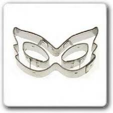mardi gras cookie cutters mardi gras mask shaped cookie cutter