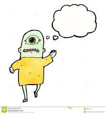 cartoon cyclops monster royalty free stock photo image 38050745