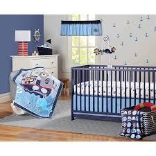 Nursery Bedding Set Garanimals Boating Buddies Crib Bedding Set 3 Piece Walmart Com