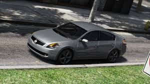nissan altima 2 door sport nissan altima 3 5se add on replace template gta5 mods com