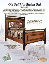 White Timber Queen Bedroom Suite Rustic Furniture Hickory Furniture Mirrors Mirror Frames