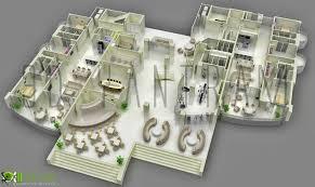 Floor Plan Finder Gorgeous 90 3d Office Floor Plan Design Inspiration Of 3d Floor
