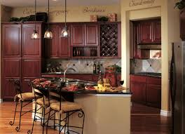kitchen dark brown kitchen cabinets and black countertops custom