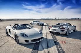 carrera porsche carrera gt 918 spyder and cayman gt4