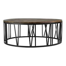 round industrial side table round industrial coffee table writehookstudio com
