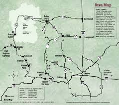 Colorado County Map by Winter Park Grand County Maps Guestguide Free Visitor Guides