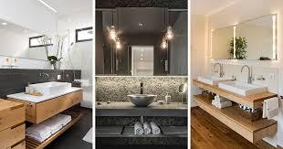 Bathroom Design Idea An Open Shelf Below The Countertop - Bathroom counter designs