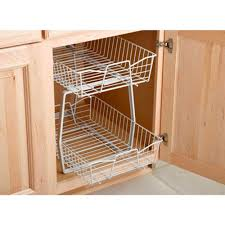 2 tier ventilated wire drawer basket sliding cabinet organizer 2 tier ventilated wire drawer basket sliding cabinet organizer kitchen storage what s it worth