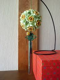 handcraftku tsumami zaiku kusudama flower ball oriental home decor