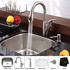 Best Kitchen SinksFaucets Images On Pinterest Faucets - Kitchen sink and faucet sets