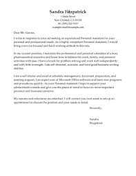 Sample Healthcare Cover Letters Personal Assistant Cover Letter Sample The Letter Sample