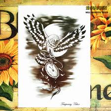 tattoo home decor online get cheap clock tattoos aliexpress com alibaba group