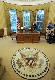 trump oval office redecoration newly redecorated oval office cbs new york