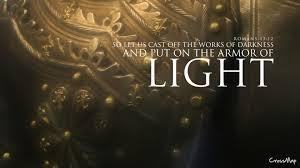 put on the armor of light christian photographs crossmap