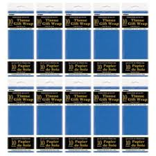 royal blue tissue paper royal blue tissue paper sheets 10 sheets pack pack of 10
