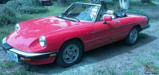 1983 alfa romeo spider veloce convertable