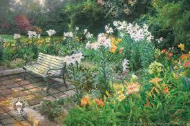 eternal springtime painting by kinkade