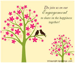 hindu engagement invitations engagement invitation card