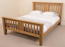 Kingsize Bed Frames Boston 5ft Solid Oak King Size Bed Frame 220 X 164 X 110 Cm