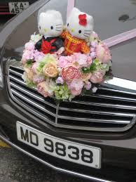 wedding car decoration hk style bridal car rental pinterest