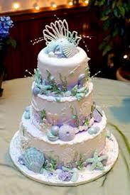 themed wedding cakes of seashell wedding cakes for a wedding theme