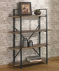 Bookshelves And Bookcases by Amazon Com O U0026k Furniture 4 Tier Bookcase Vintage Industrial