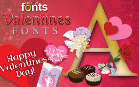 creative fonts valentines 1 selling logo software for over 15