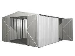 box auto in lamiera zincata prezzi in acciaio bianco 3 45 x 4 30 lamiera zincata garage auto moto