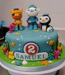 octonauts cake topper octonauts birthday cake gloria cake creative ideas