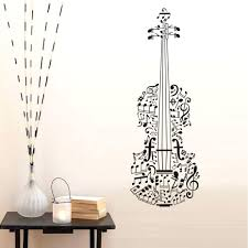 Music Note Home Decor Wall Ideas Music Note Canvas Art Music Notes Vinyl Wall Decal