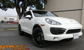 porsche cayenne black wheels porsche cayenne 22 wheels nitrous garage s