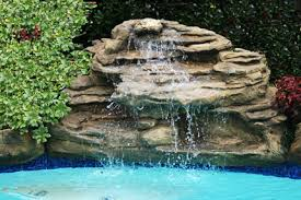 pools with waterfalls swimming pool waterfalls 9 models artificial rock waterfall