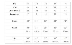shoe size chart topshop highstreet clothing sizes what s going on lauren loves blog