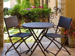 Metal Patio Chair Patio U0026 Pergola 26 Stunning Round Patio Table And Chairs On